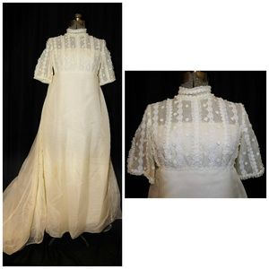 Miss Betsy VTG 50's Bridal Wedding Gown Size Small